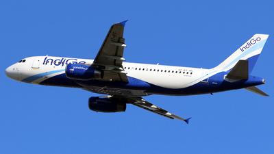 A picture of VTIFF - Airbus A320232 - IndiGo - © Silas