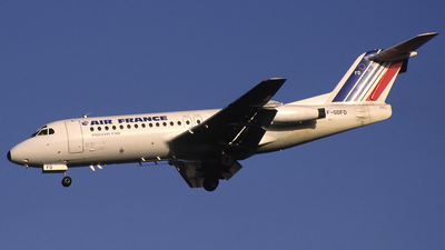 F-GDFD - Fokker F28-4000 Fellowship - Air France (TAT)