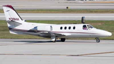 N39HH - Cessna 501 Citation - Private