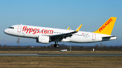 A picture of TCNCC - Airbus A320251N - Pegasus Airlines - © Marin Ghe.