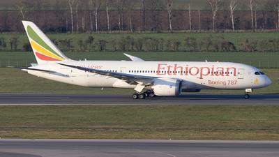 A picture of ETAOQ - Boeing 7878 Dreamliner - Ethiopian Airlines - © Felix Sourek