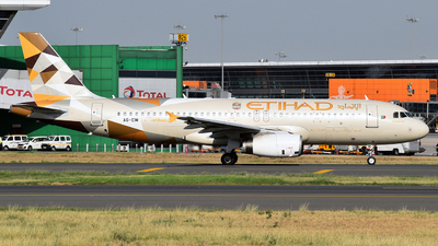 A6-EIM - Airbus A320-232 - Etihad Airways