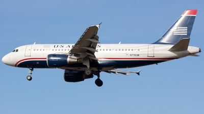 N715UW - Airbus A319-112 - US Airways