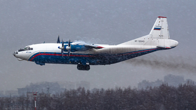 RF-12043 - Antonov An-12BK - Russia - National Guard