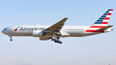 A picture of N785AN - Boeing 777223(ER) - American Airlines - © OlivierHoarau