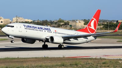 TC-JHP - Boeing 737-8F2 - Turkish Airlines