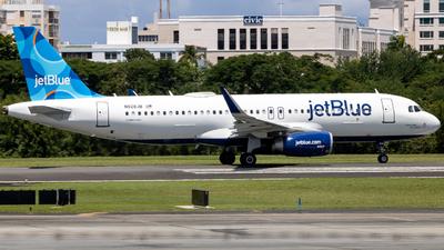 N828JB - Airbus A320-232 - jetBlue Airways
