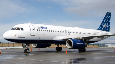 N705JB - Airbus A320-232 - jetBlue Airways