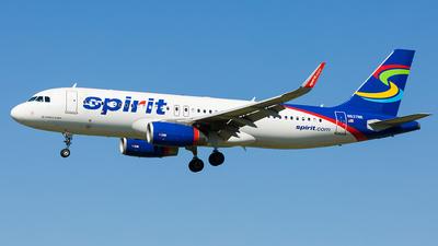 N637NK - Airbus A320-232 - Spirit Airlines