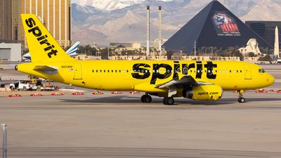A picture of N604NK - Airbus A320232 - Spirit Airlines - © Brandon Giacomin