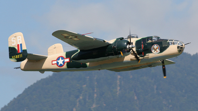 HB-RDE - North American B-25J Mitchell - Jet Alpine Fighters