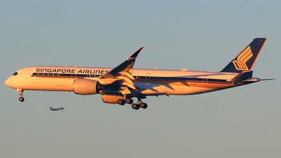 9V-SGE - Airbus A350-941 - Singapore Airlines