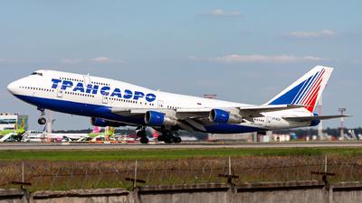 VP-BGX - Boeing 747-346 - Transaero Airlines
