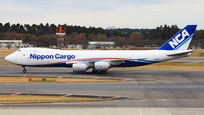 JA18KZ - Boeing 747-8KZF - Nippon Cargo Airlines (NCA)