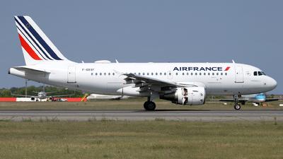 F-GRXF - Airbus A319-111 - Air France