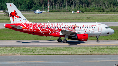 A picture of VQBCP - Airbus A319111 - Rossiya - © Jan Syrbo