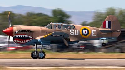 NX94466 - Curtiss P-40E Kittyhawk - Private
