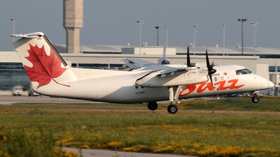 C-FGRY - Bombardier Dash 8-102 - Air Canada Jazz