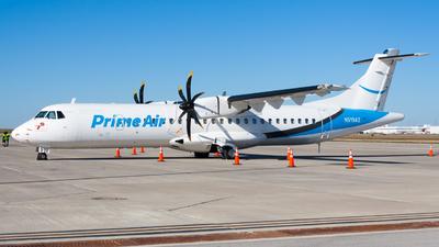 N919AZ - ATR 72-212A(500)(F) - Amazon Prime Air (Silver Airways)