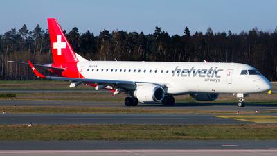 HB-JVS - Embraer 190-100IGW - Helvetic Airways