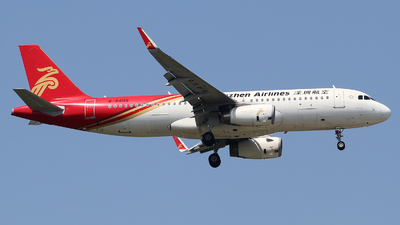 A picture of B8409 - Airbus A320232 - Shenzhen Airlines - © M.T