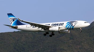 SU-GCF - Airbus A330-243P2F - EgyptAir Cargo