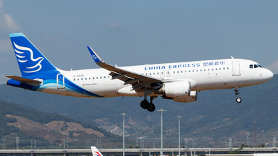 A picture of B8696 - Airbus A320214 - China Express Airlines - © GZH