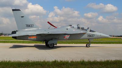 78437 - Nanchang L-15 Falcon - China - Air Force