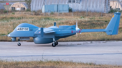 AS2132 - IAI Heron Shoval - Malta - Armed Forces