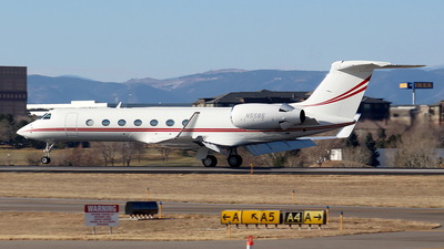 N5585 - Gulfstream G550 - Private