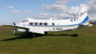 G-HBBC - De Havilland DH-104 Dove - Private