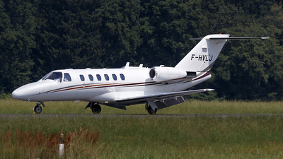 F-HVLJ - Cessna 525 Citationjet CJ2 - VallJet