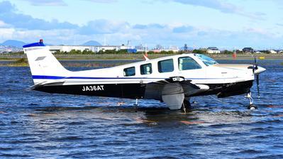 JA36AT - Beechcraft A36 Bonanza - Private