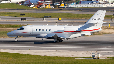 F-HSAO - Cessna Citation Latitude - Private