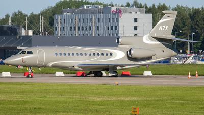 N7X - Dassault Falcon 7X - Private