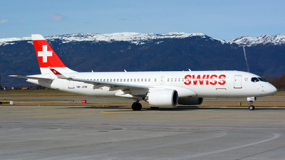 A picture of HBJCM - Airbus A220300 - Swiss - © Jeremy Denton