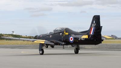 ZF407 - Short Tucano T.1 - United Kingdom - Royal Air Force (RAF)