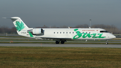 C-FDJA - Bombardier CRJ-200ER - Air Canada Jazz