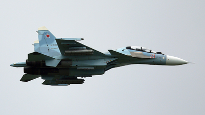 RF-93668 - Sukhoi Su-30SM - Russia - Air Force