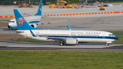B-1237 - Boeing 737-81B - China Southern Airlines
