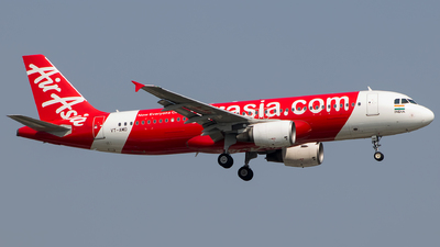 A picture of VTAMD - Airbus A320214 - AirAsia - © Aneesh Bapaye