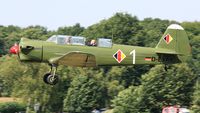 D-EYAK - Yakovlev Yak-18 - Private