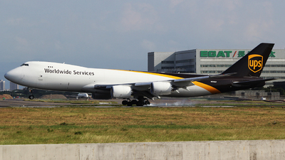 A picture of N618UP - Boeing 7478F - UPS - © mobfeng