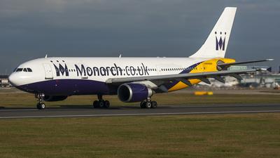 G-MONR - Airbus A300B4-605R - Monarch Airlines