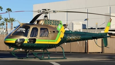 N963SD - Eurocopter AS 350B2 Ecureuil - United States - Los Angeles County Sheriff