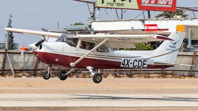 4X-CDE - Cessna 172P Skyhawk - Sky Aviation