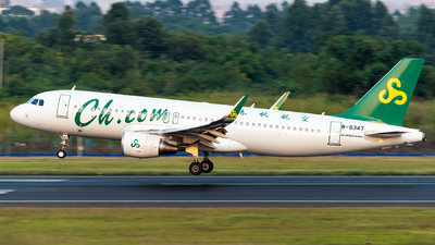 B-8347 - Airbus A320-214 - Spring Airlines