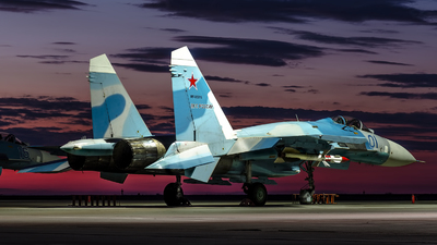 RF-95516 - Sukhoi Su-27 Flanker - Russia - Air Force
