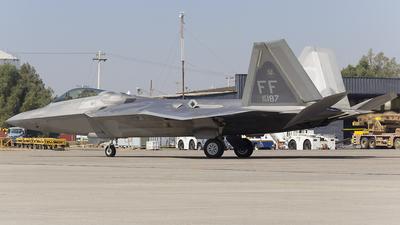 09-4187 - Lockheed Martin F-22A Raptor - United States - US Air Force (USAF)