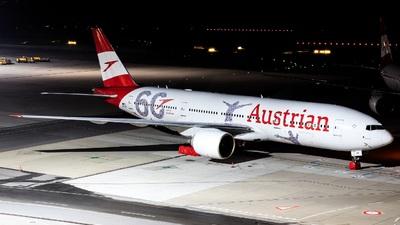 A picture of OELPF - Boeing 7772Q8(ER) - Austrian Airlines - © Felix Sourek